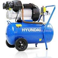 Hyundai 50 Litre Air Compressor, 14CFM/116psi, Direct Drive V-Twin, 3HP | HY3050V
