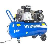 Hyundai 100 Litre Air Compressor, 14CFM/145psi, Twin Cylinde