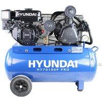 Hyundai HY70100P 90L Petrol Compressor 7.0hp 212cc