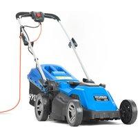 Hyundai HYM3800E 380mm Corded Roller Mulching Lawnmower 1600W 230V