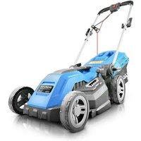 Hyundai HYM3800E Electric 1600W / 230V 38cm Rotary Rear Roller Mulching Lawnmower