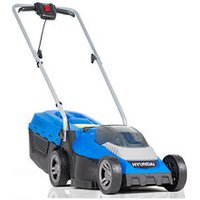 Hyundai HYM40LI330P 40V Lithium-Ion Cordless Battery Powered Roller Lawn Mower 33cm Cutting Width With Battery and Charger