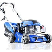 Hyundai HYM430SPE 139cc Electric-Start Self-Propelled 420mm Petrol Roller Lawnmower