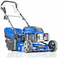 Hyundai HYM430SPER Self Propelled 17 43cm 430mm 139cc Electric Start Petrol Roller Lawn Mower - Includes 600ml Engine Oil