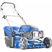 Hyundai HYM430SPR Self Propelled 17 43cm 430mm 139cc Petrol Roller Lawn Mower - Includes 600ml Engine Oil