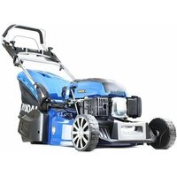 HYM480SPER 19 48cm 480mm Self Propelled Electric Start 139cc Petrol Roller Lawn Mower - Includes 600ml Engine Oil - Hyundai