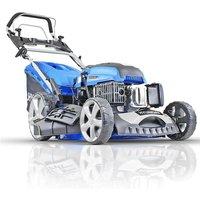 Hyundai HYM510SPE 196cc Electric-Start Self-Propelled 510mm Petrol Roller Lawnmower