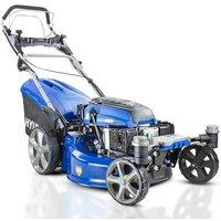 Hyundai HYM510SPEZ 20 51cm 510mm Self Propelled ZERO-TURN ULTRA LOW CUT Lawn Mower Electric Push Button Start 196cc Petrol Lawn Mower - Includes