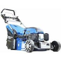 Hyundai HYM530SPR 21 530mm Self Propelled 196cc Petrol Rear Roller Lawn Mower - Includes 600ml Engine Oil