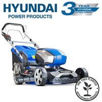 Hyundai HYM80LI460SP 80V Lithium-Ion Cordless Battery Powered Self Propelled Lawn Mower 18