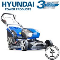 HYM80LI460SP 80V Lithium-Ion Cordless Battery Powered Self Propelled Lawn Mower 18 - Hyundai
