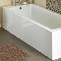 Jt Pickfords - ICE 1700mm White Gloss 1 Piece Bath Front Panel