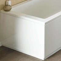 ICE 700mm White Gloss 2 Piece Bath End Panel