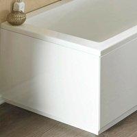 ICE 750mm White Gloss 2 Piece Bath End Panel