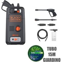Idropulitrice Black Decker Bxpw1300E Ad Acqua Fredda 100 Bar 1300W 390 Lt/H - BLACK & DECKER