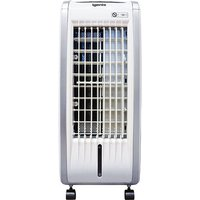 IG9704 Portable 4-in-1 Evaporative Air Cooler with Fan Heater, Humidifier and Air Purifier Functions, 3 Fan Speeds with Oscillation, 7.5 Hour Timer