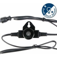 First Choice Lighting - In-line Dusk til Dawn Photocell for use with our White and Blue Plinth Decking Kit only