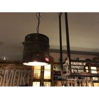 Verty Furniture - Industrial Beer Keg Light