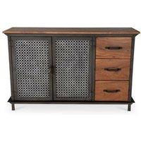 Privatefloor - Industrial style sideboard with drawers - Avara Steel