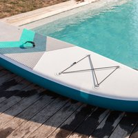 Alices Garden - Inflatable stand up paddle pack - Lio 1110 - with high pressure pump, paddle, leash and storage bag