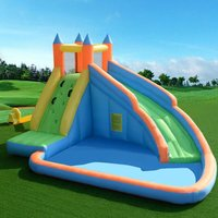 Costway - Inflatable Water Slide Kids Bouncy Castle Play House Bounce Jumping Type 1