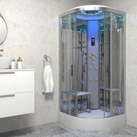 Insignia ® - Insignia Platinum Non Steam Shower Cabin Enclosure Quadrant 1000mm Chrome/Clear