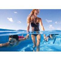 Intex 28271, Family Frame Piscina Rettangolare senza Pompa Filtro, 260 x 160 x 65 cm, Blu