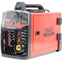 Spark - Welder MIG MAG MMA 200A / 220V DC, Digital Display, IGBT, Max Electrode Size 4.00mm, Portable Inverter Welding Machine, Arc Welder,