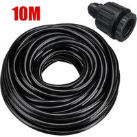 Irrigation Misting Nozzles Kit Patio Cooling System Accessories Set 10M Hose with Connector