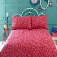 Bedmaker - Irvine Black Single Duvet Cover Set Bedding Retro Quilt Bed Set