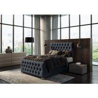 Jakarta Denim Kettleby Single Bed Frame