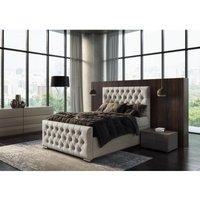 Jakarta Linen Kettleby Single Bed Frame