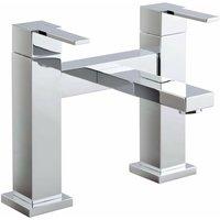 JTP Athena Lever Pillar Mounted Bath Filler Tap - Chrome