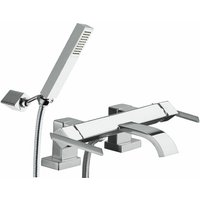 Just Taps Plus - JTP Ki-Tech Bath Shower Mixer Tap Pillar Mounted - Chrome
