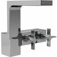 JTP Waterblade Mono Basin Mixer Tap - Chrome - JUST TAPS PLUS