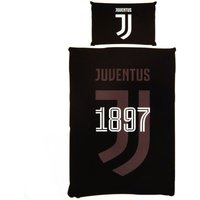 Single Duvet Set (One Size) (Black) - Juventus F.c.