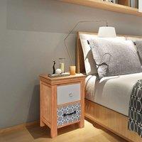Kalvin 2 Drawer Bedside Table by Brayden Studio - Brown