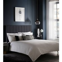 Karen Millen Pleat Detail Double Duvet Set - CLARKE and CLARKE