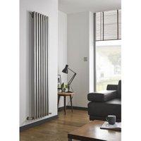 Kartell Uk - Kartell Aspen Stainless Steel Vertical Designer Radiator 1800mm x 250mm Double Panel