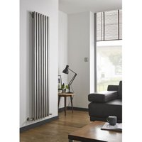 Kartell Uk - Kartell Aspen Stainless Steel Vertical Designer Radiator 1800mm x 450mm Single Panel