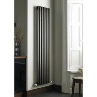 Kartell Aspen Steel Anthracite Vertical Designer Radiator 1800mm x 550mm Single Panel