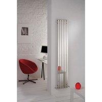 Kartell Uk - Kartell Florida Stainless Steel Vertical Designer Radiator 1800mm x 390mm