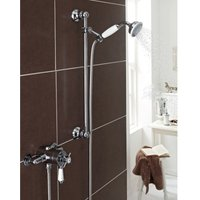 Kartell Uk - Kartell Klassique Thermostatic Exposed Mixer Shower With Adjustable Slide Rail Kit