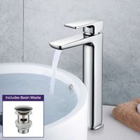 Keninton Bathroom Basin Mixer Tall Tap - NESHOME