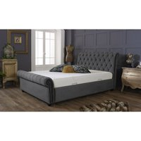 Kensington Grey Malia Double Bed Frame