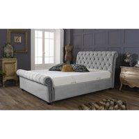 Kensington Silver Malia Double Bed Frame