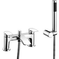 RAK Curve Bath Shower Mixer Tap - Chrome - RAK CERAMICS