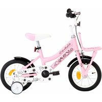 Betterlifegb - Kids Bike with Front Carrier 12 inch White and Pink38999-Serial number
