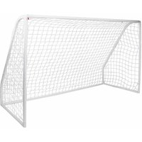 Kids Junior 12ft x 6ft Football Goal Inc. Clips and Ground P