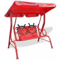 Asupermall - Kids Swing Seat Red